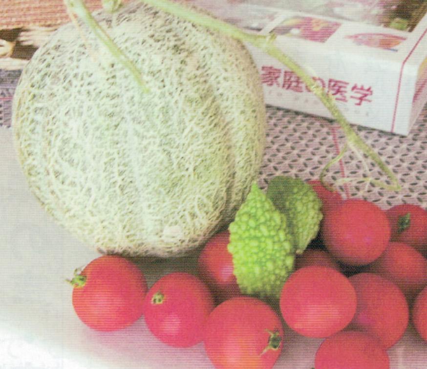 HB-101でメロンとゴーヤとミニトマトが元気に育ちます。
